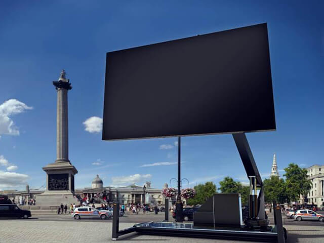 Big tv uk ltd outdoor led display led screen hire for Exterior led screen