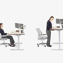 Good ergonomics is about moving and standing as well as sitting