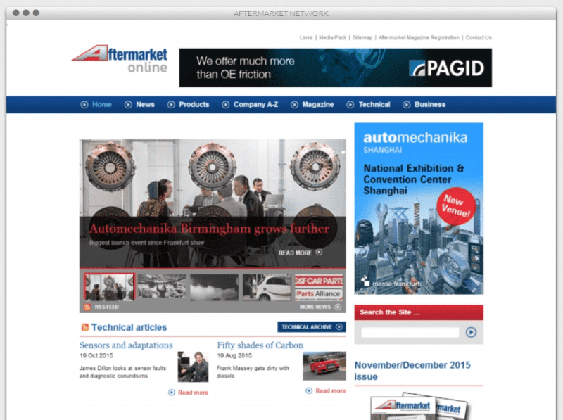 Our Work - Aftermarket Network
