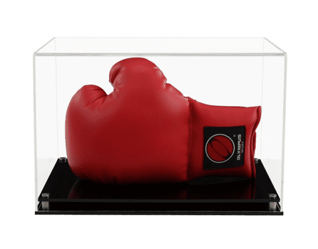 Acrylic Boxing Glove Display Case (Horizontal)