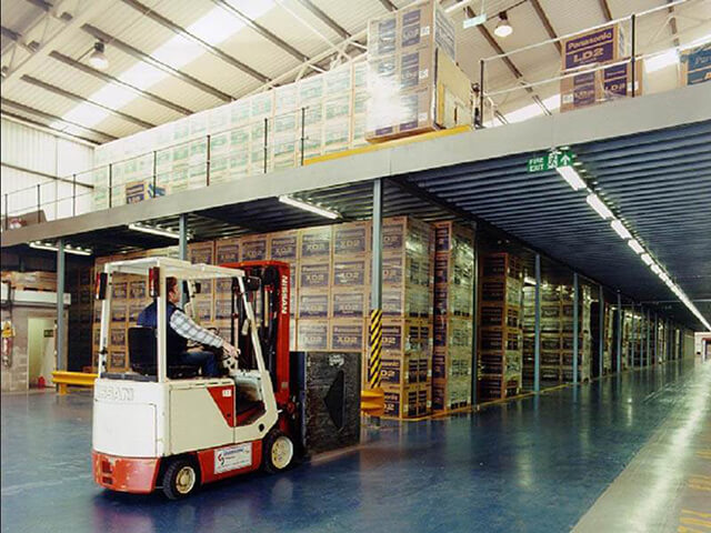 Mezzanine Floor - Pallet Racking