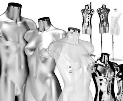 Bust Forms & Display Torsos