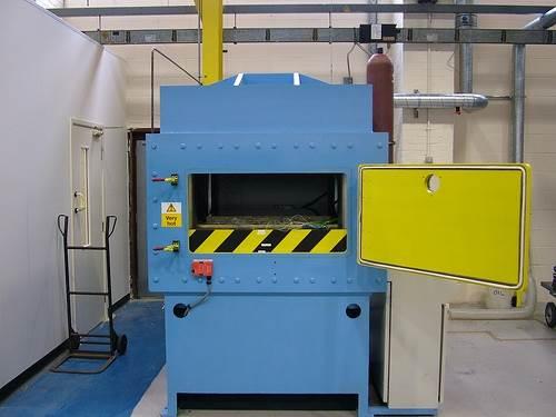 Heated Vacuum Upstroking Press