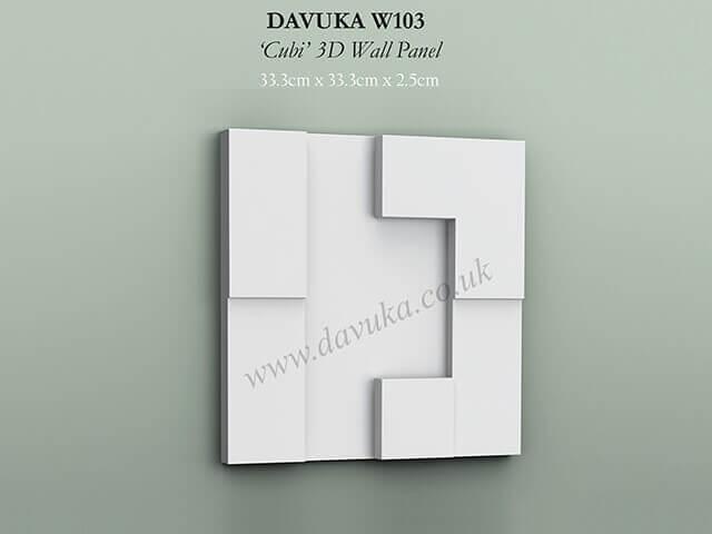 Raised 3D Wall/Door Panels