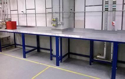 Custom Steel Workbench Custom Steel Work Station