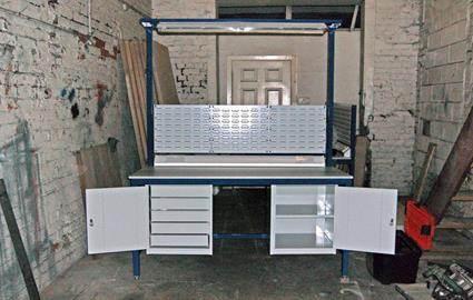 Custom Steel Workbench Custom Workbench