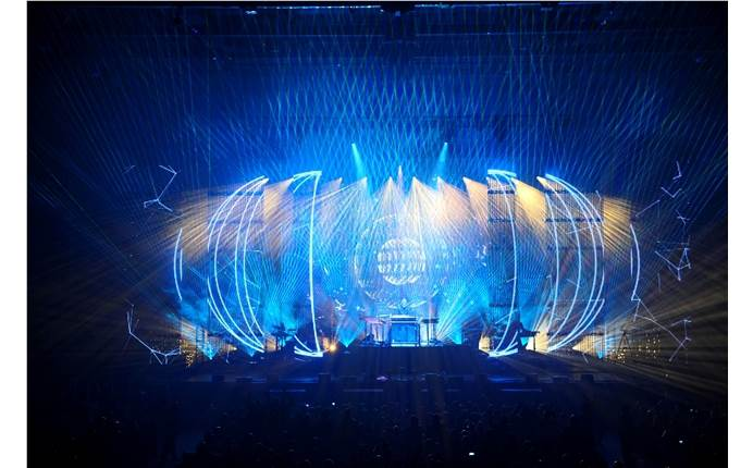 Harlequin Floors chosen for Jean-Michel Jarre's captivating European Tour