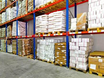 Warehouse and Racking Labels