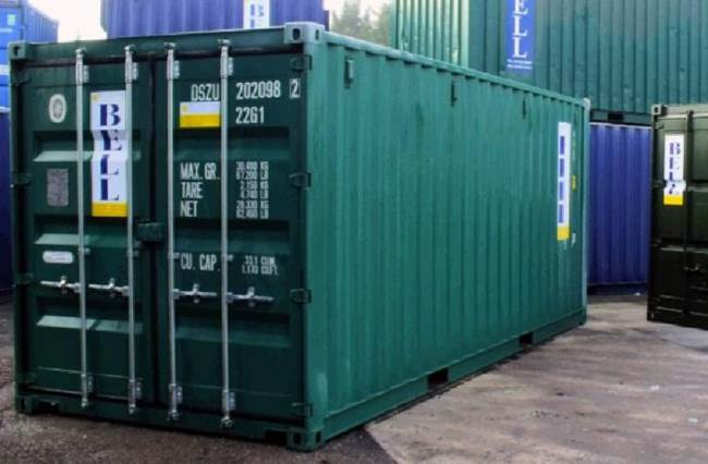 Storage Containers – hire & sales