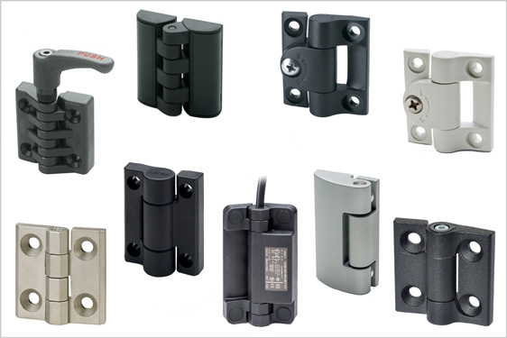 External hinges from Elesa – enclosure doors to equipment safety cut-off