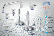 Hygienic knobs & handles in stainless steel
