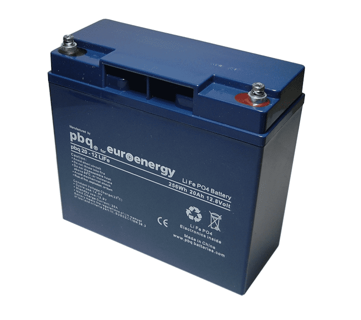 Compatible replacement batteries for RDP SENSA LiFe Medical carts