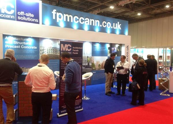FP McCann attends British Tunnelling Society Conference and Off-Site Exhibition