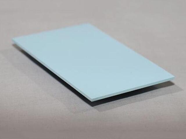 Pastel Blue Hygienic Wall Cladding