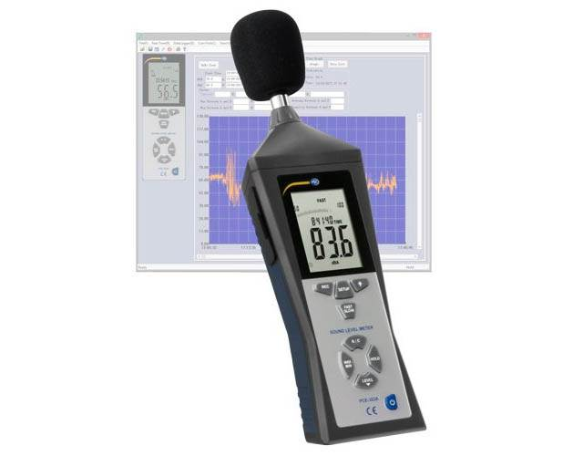 Data Logging Sound Level Meter PCE-322A