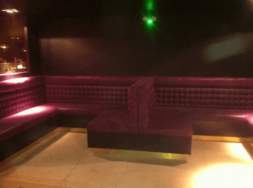 Coloured Furniture - Club Nox Aberdeen