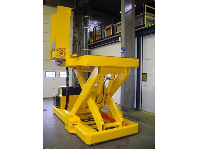 Bespoke designed scissor lift