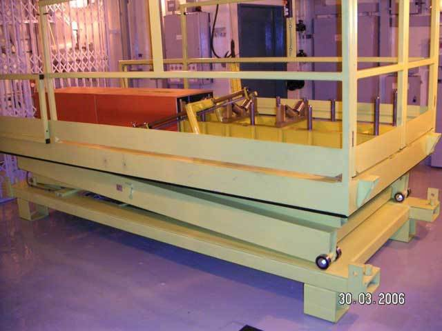 Nuclear Power Station Lift Table Manufacturer