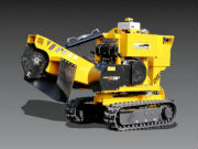Predator 28X Tracked Stump Grinder