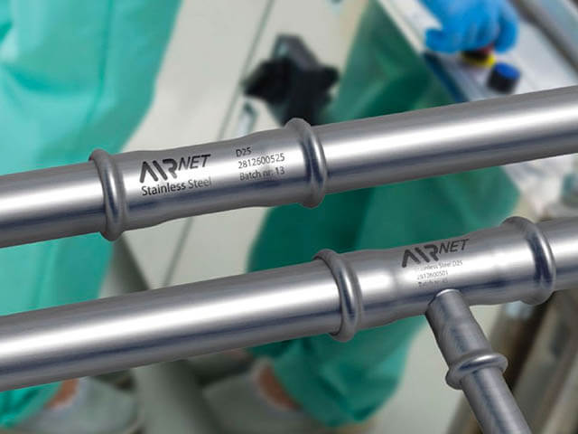 AIRnet Stainless Steel Pipework