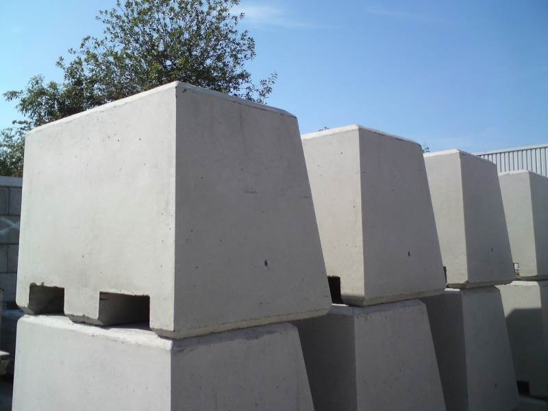 Concrete Kentledge Block