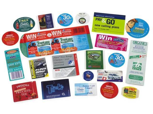 On Pack Promotional Labels