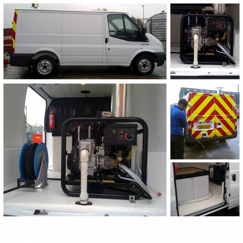 Morclean Ltd Wheelie Bin Cleaning Machines Wheelie Bin