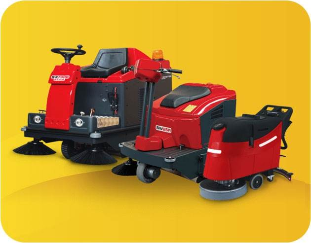A fresh new range of floor equipment