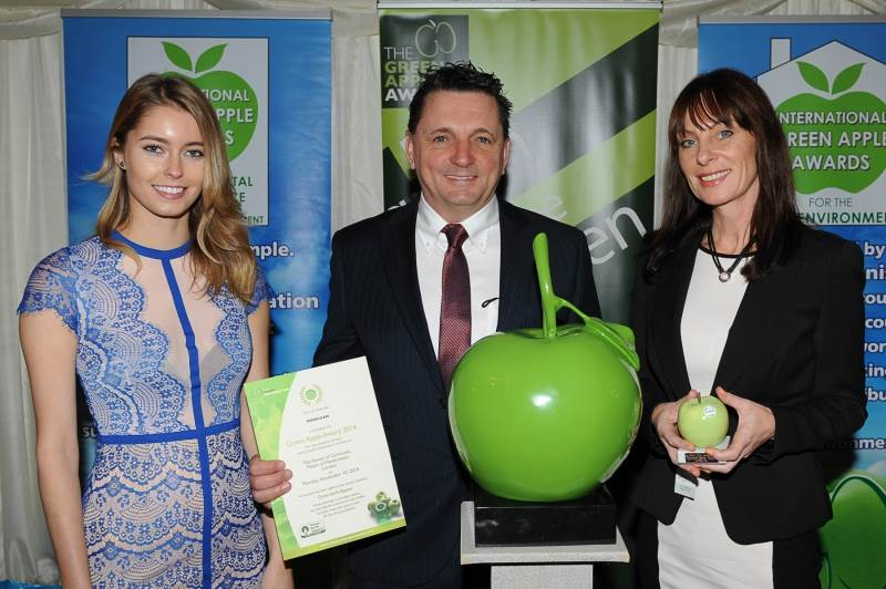 Morclean Wins Green Apple Award for Binwash CITY