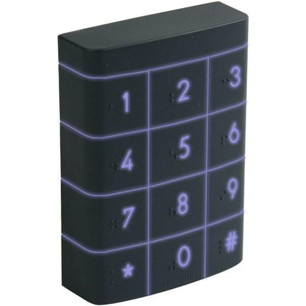 Backlit Standalone Single Door Waterproof Keypad