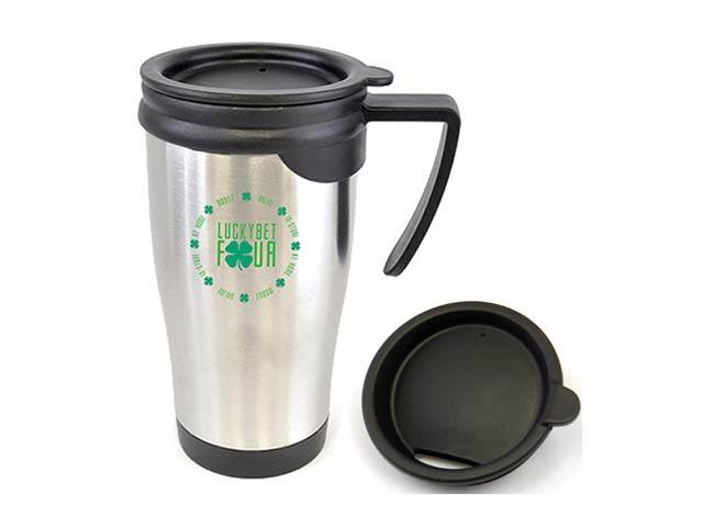 Travel Mugs With Push On Lid