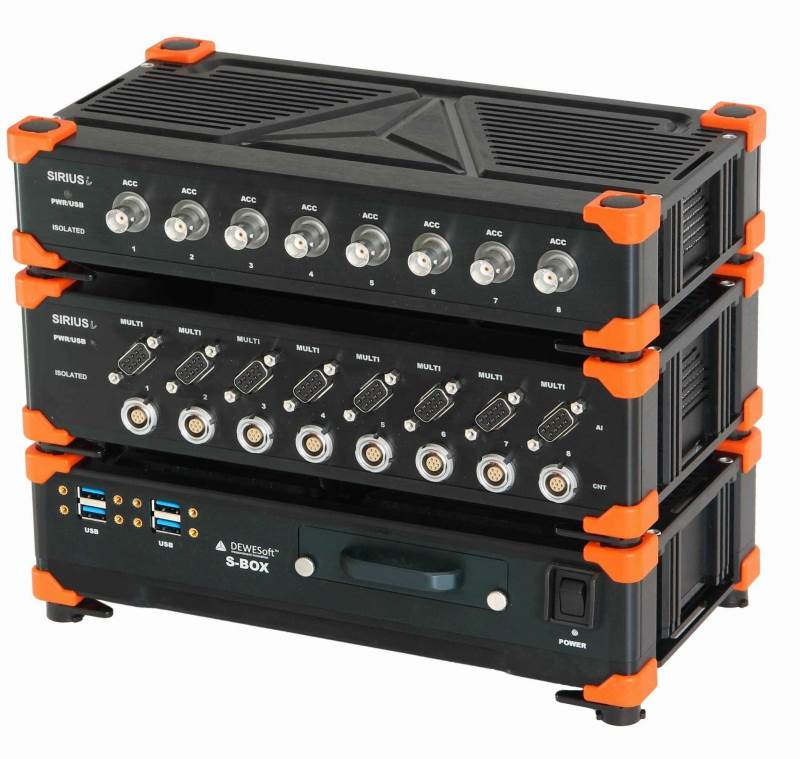 DEWESoft modular data acquisition systems