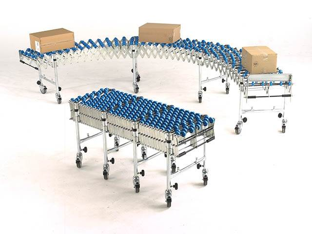 Flexible Extending Conveyors