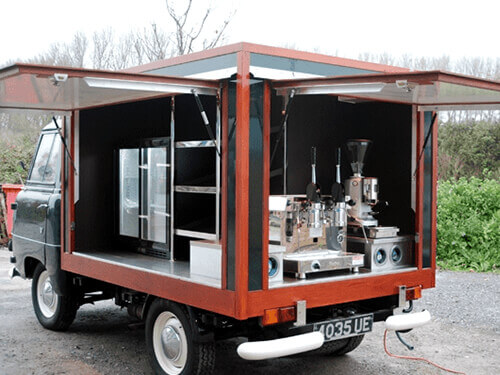 Coffee vans
