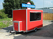 Street Food Catering Trailer