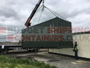 Hiab Assisted Container Delivery