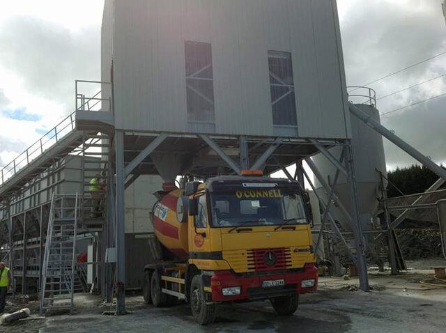 Dry & Wet Concrete Batching Plant