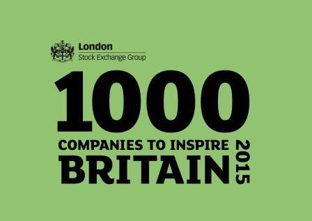 Spooner named in Britain's '1000 Companies to inspire'