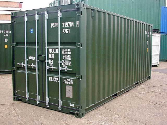 New ISO 20' Shipping Container