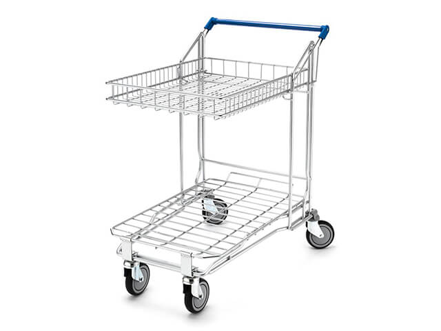 Two Tier Flatbed With Shallow Basket