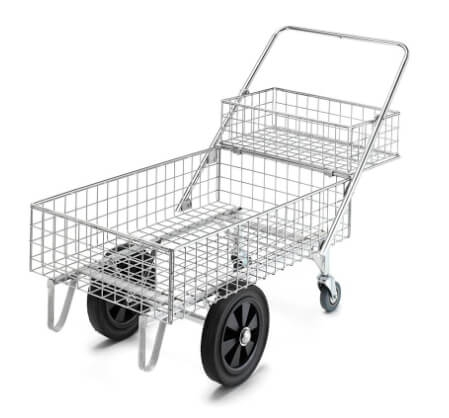 Concerned about microbe contamination on trolleys?