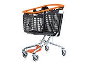 LOOP 100 Plastic Shopping Trolley