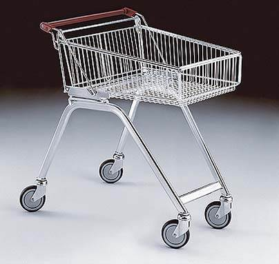 Light Shallow Shopping Trolley