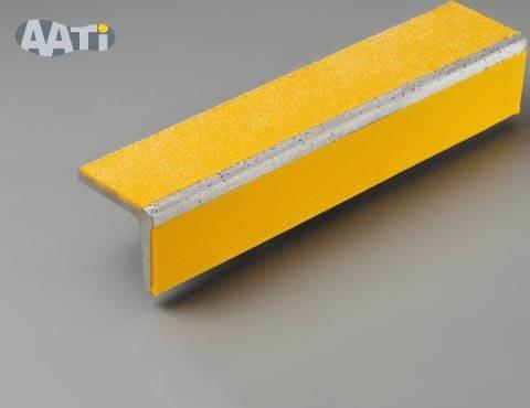 Wideline™ Coloured Resin Anti-Slip Stair Nosing