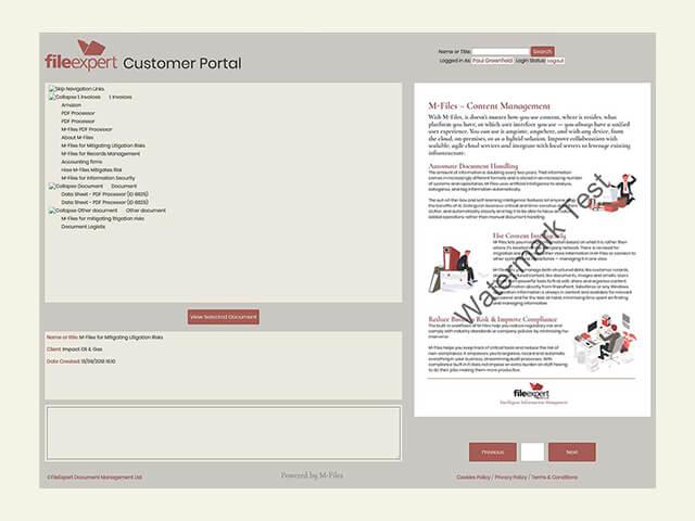 Document Management Portal