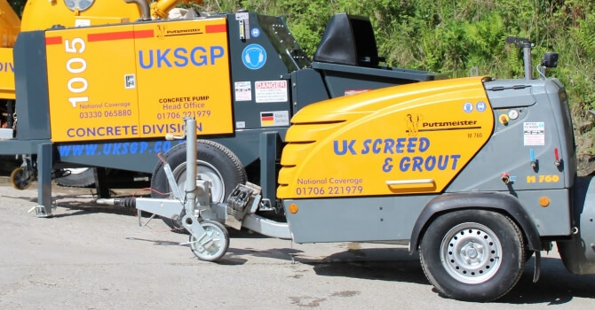 Main image for UK Screed & Grout Pumps