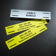 Printed Tie-on Cable Labels