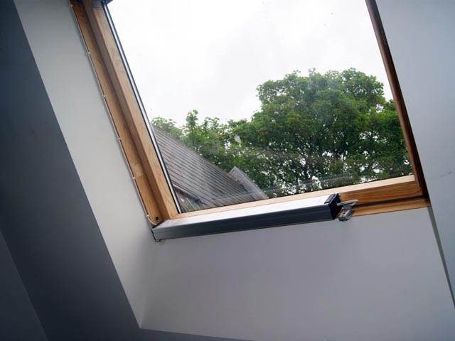 Supermaster Fitted To Skylight