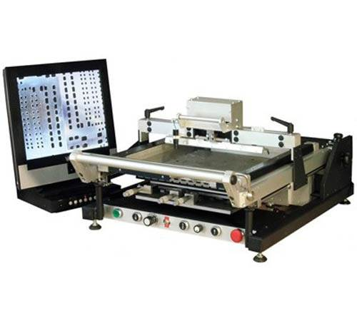 Mechatronic Semi Auto Stencil Printer