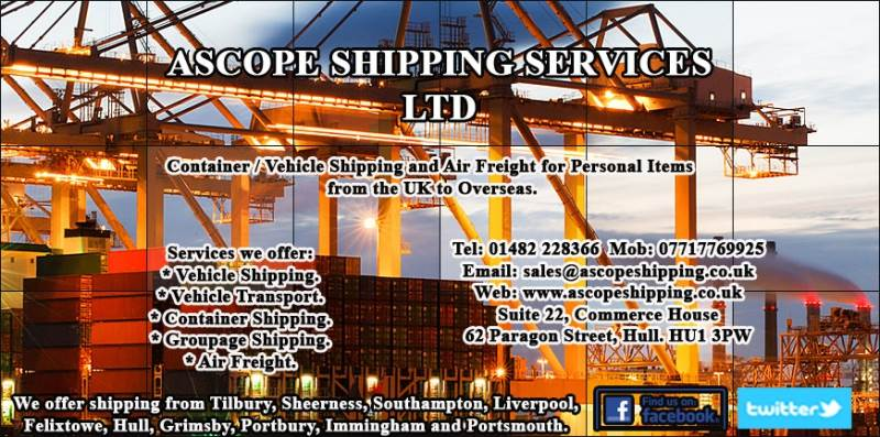 Main image for Ascope Shipping Services LTD